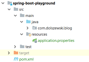 Spring Boot application properties file | Dev in Web